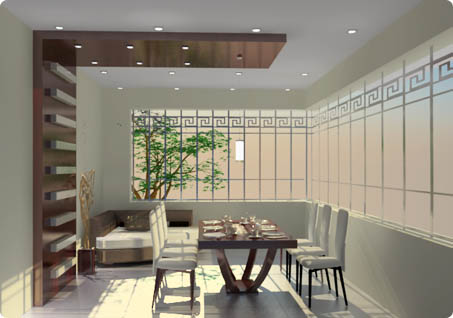 Portfolio of Interior Design by Spazioso Kolkata Dinning Space