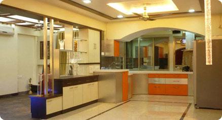Interior Design done by Axiom Interiors Kolkata