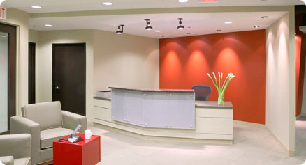 Corporate interior design by Axiom Interiors